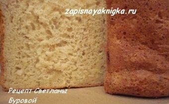Домашний постный хлеб с пшеном и луком