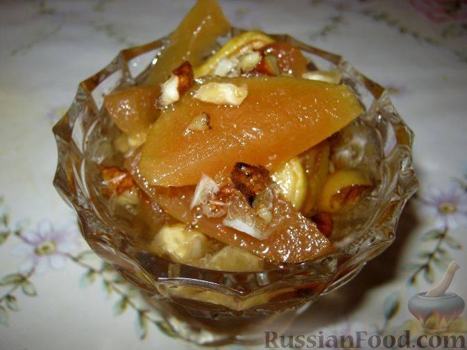 Прозрачное варенье из айвы самый вкусный рецепт