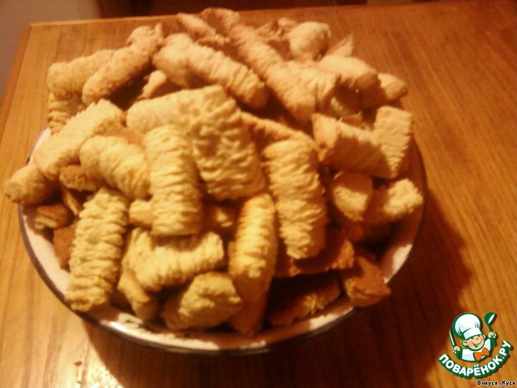 Печенье через мясорубку — 5 рецептов приготовления дома