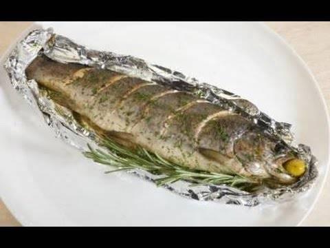 Форель в фольге в духовке - восхитительно вкусные рецепты запеченной красной рыбы