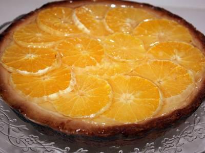 """Песочный апельсиново-лимонный пирог """"теплая осень"""""""