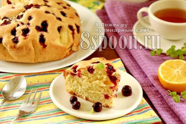 Смородиновый торт с «хрустинкой»
