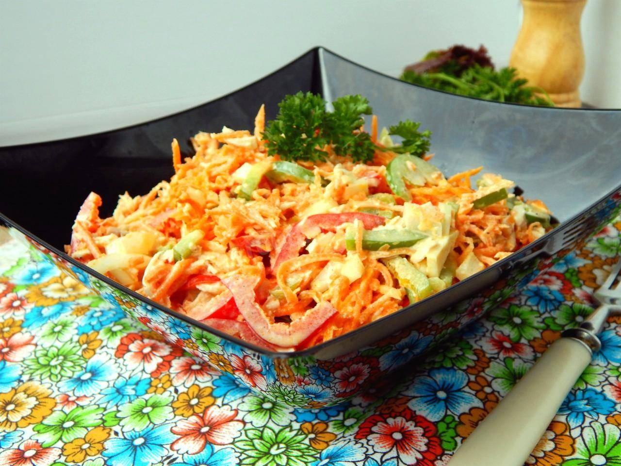 Редька зеленая рецепты салатов с маслом растительным