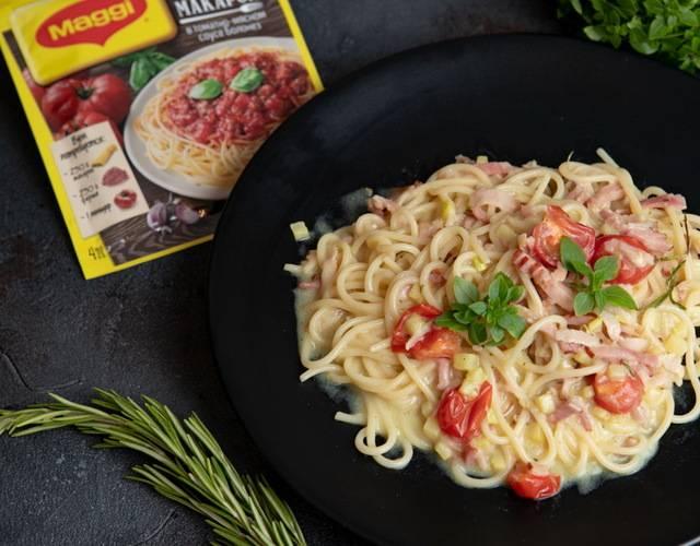 Классический пошаговый рецепт приготовления пасты (спагетти) карбонара