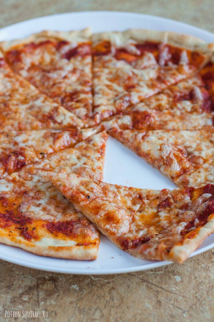 Пицца Маргарита как в пиццерии