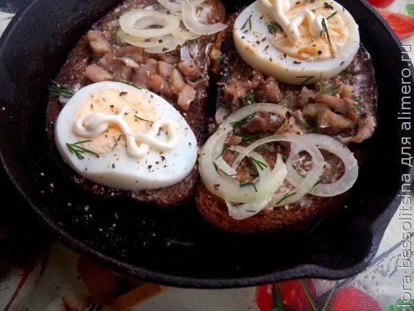 Особенный рецепт гренок с яйцом — отличный завтрак за 10 минут!