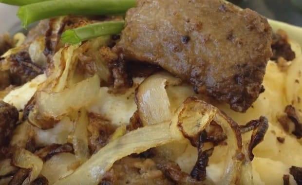 Вермишель с куриной печенью рецепт с фото