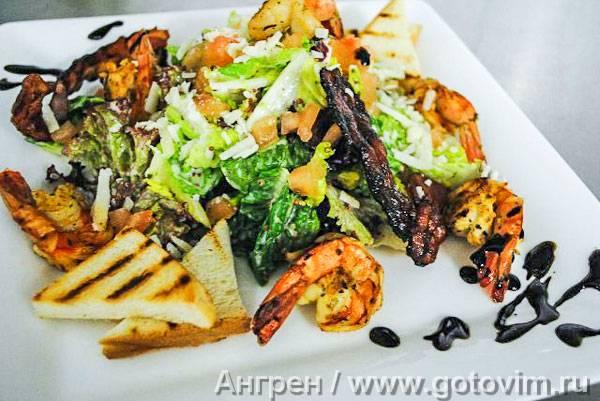 Топ самых вкусных рецептов салата цезарь