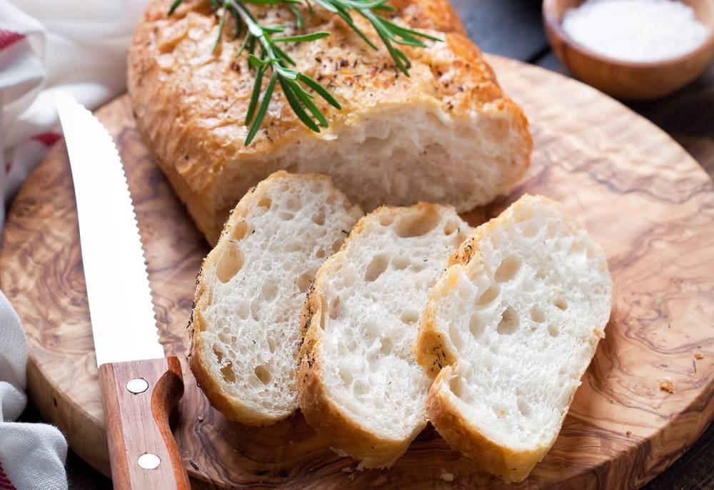 Чиабатта хлеб, что это. чиабатта