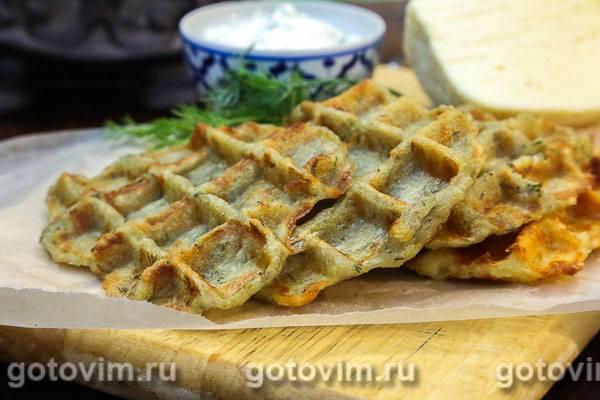 Рецепт картофельные вафли от ивлева