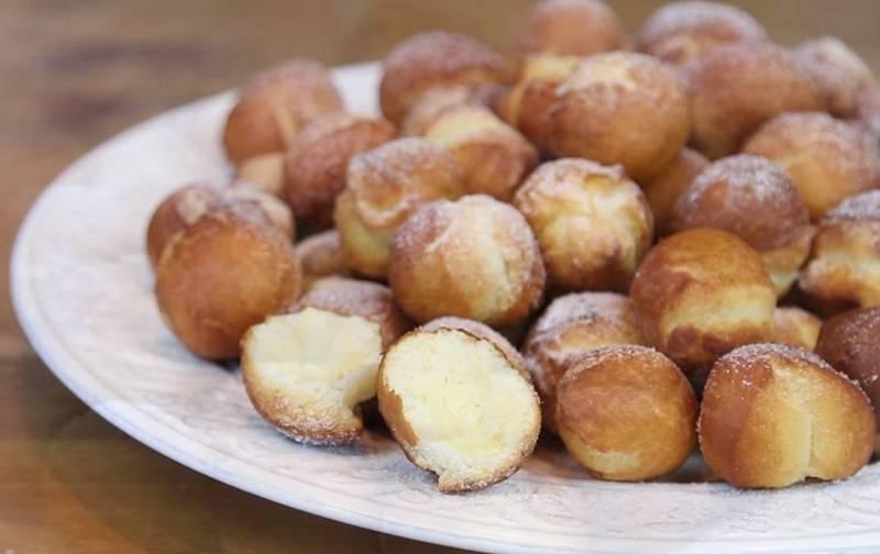 Пончики на кефире за 15 минут, вкуснятина из детства, рецепт с фото