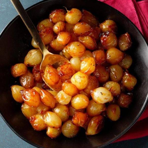Интересная закуска на все случаи жизни - карамелизированные луковки