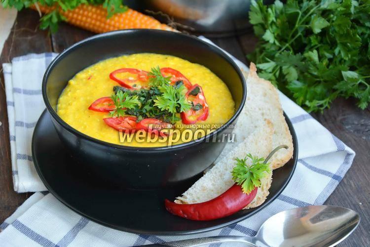 Рецепты супов с кукурузой фото