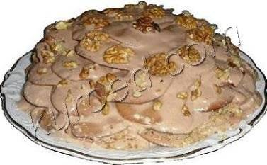 Рецепт торта «черепаха»
