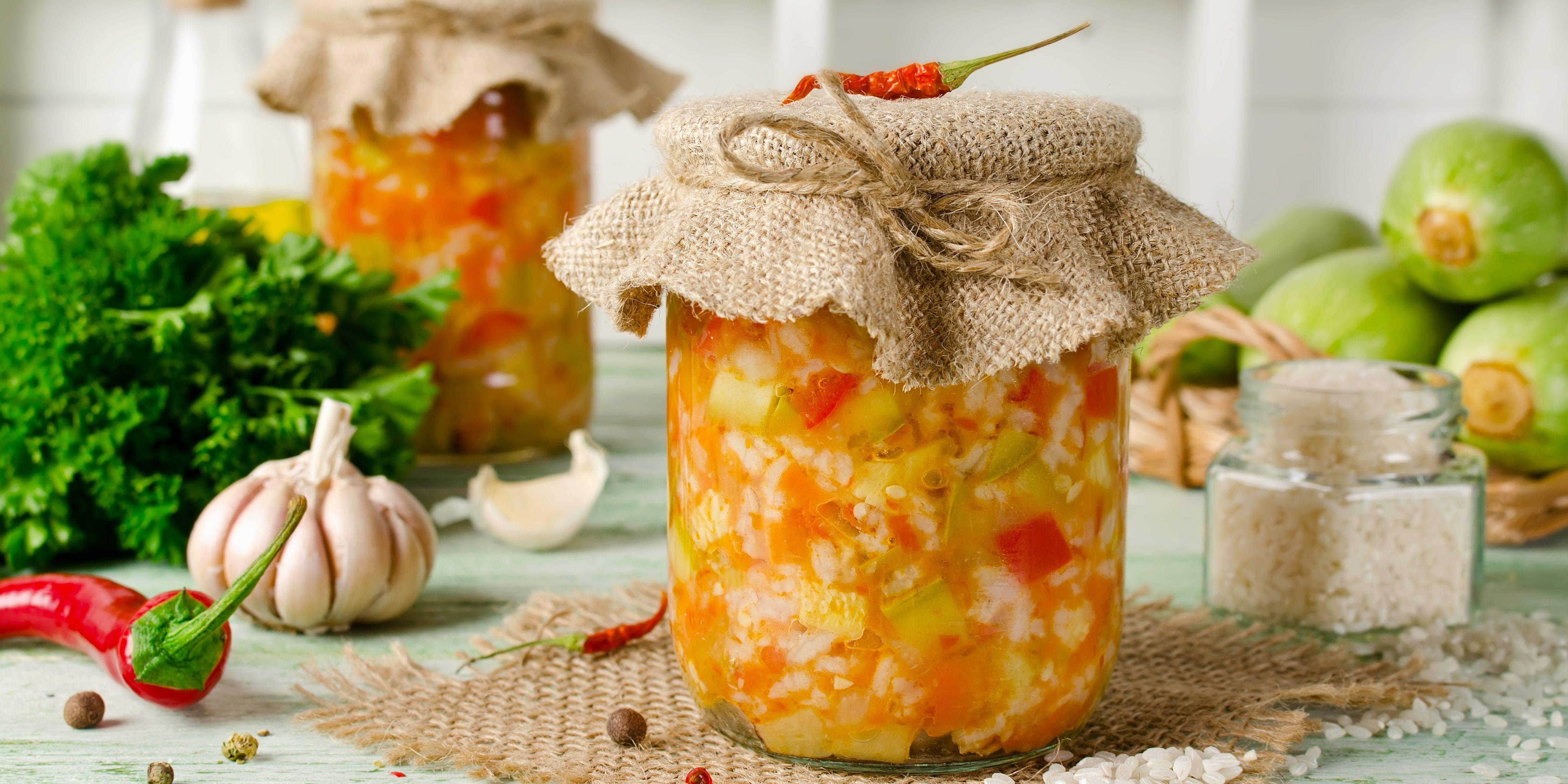 Рецепт лечо с морковью и чесноком