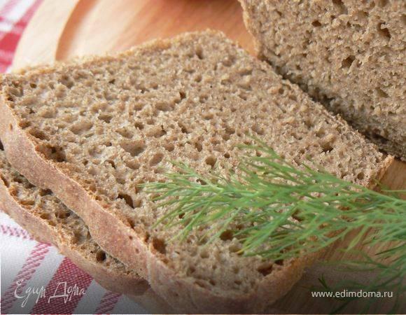 Хлеб дарницкий: рецепт для хлебопечки