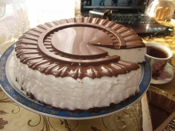 Торты с белым шоколадом: домашние рецепты