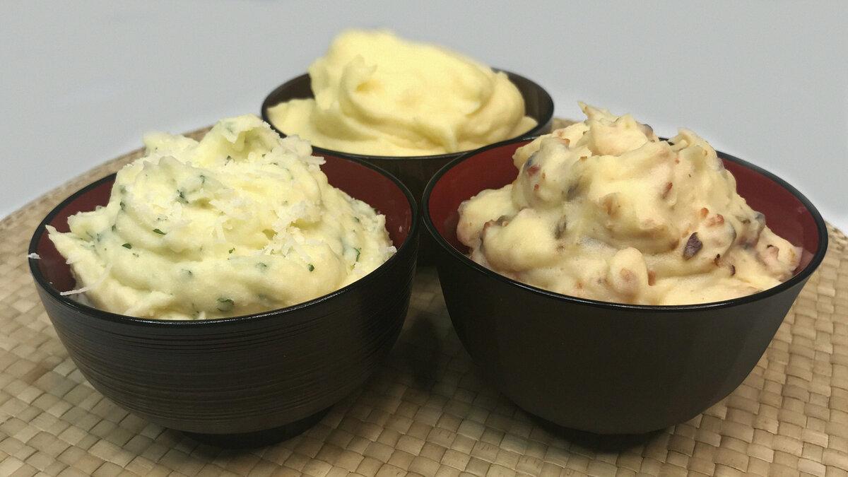 Как приготовить вкусное картофельное пюре по пошаговому рецепту с фото