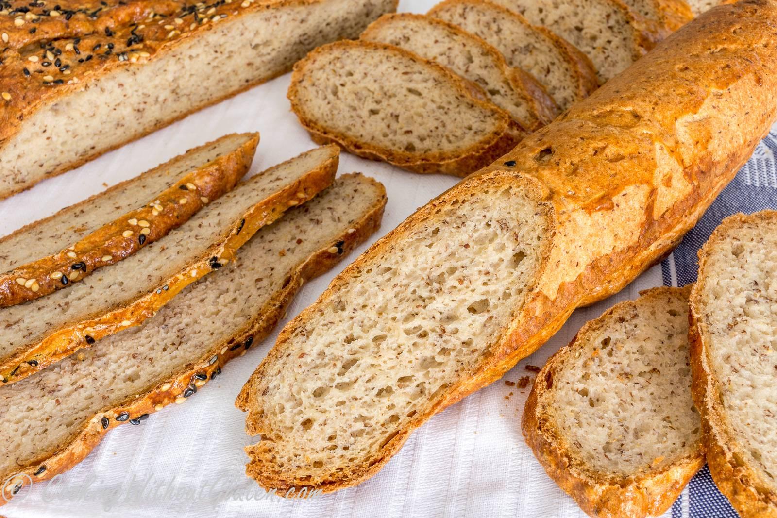 Безглютеновый хлеб рецепт без дрожжей в духовке