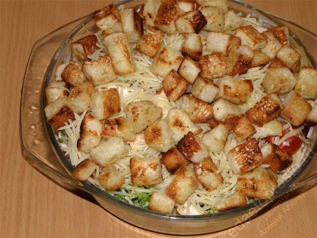 Рецепт заправки для салата цезарь