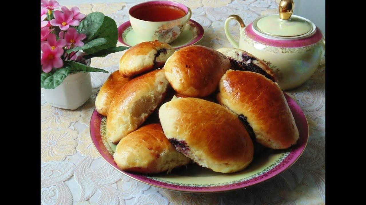 Пирожки печеные с картофелем
