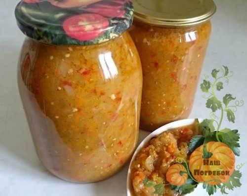 Икра из зеленых помидор на зиму: рецепты с фото