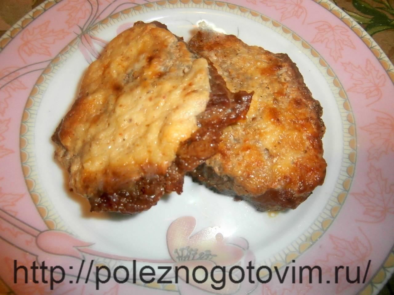 Отбивные из говядины в духовке - рецепты с сыром, помидорами, грибами
