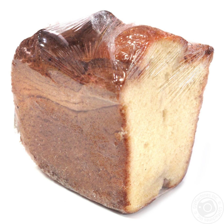 Кекс с изюмом и цукатами