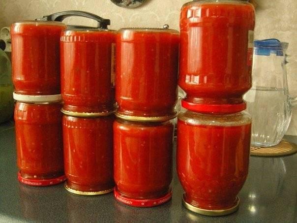 Домашний кетчуп из томатной пасты