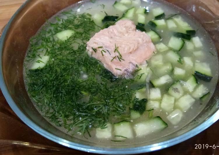 Быстрый рыбный суп — кулинарные рецепты любящей жены