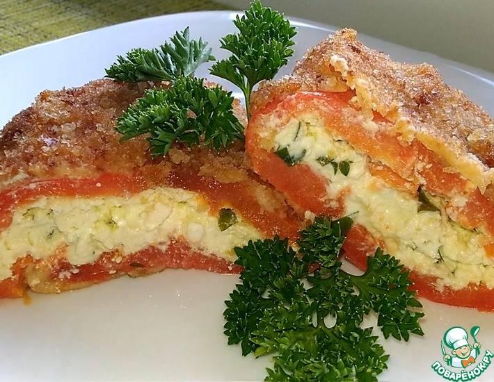 Чушка бюрек — перец с брынзой по болгарски