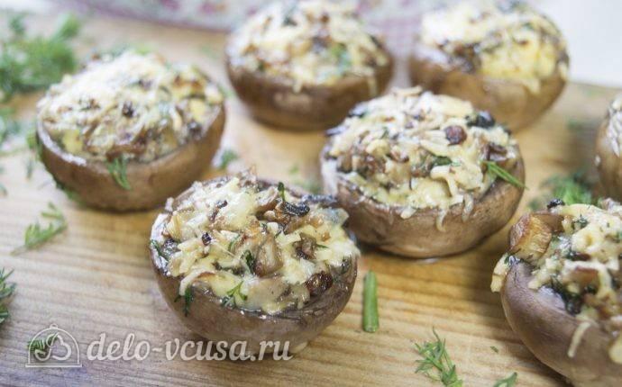 Фаршированные шампиньоны — 17 рецептов с фото пошагово. как приготовить фаршированные грибы (шампиньоны) в духовке?