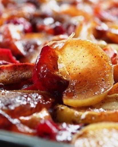 Бруснично-яблочное варенье