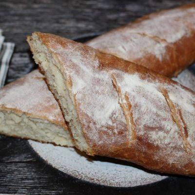 Французский багет – рецепт в духовке на живых дрожжах