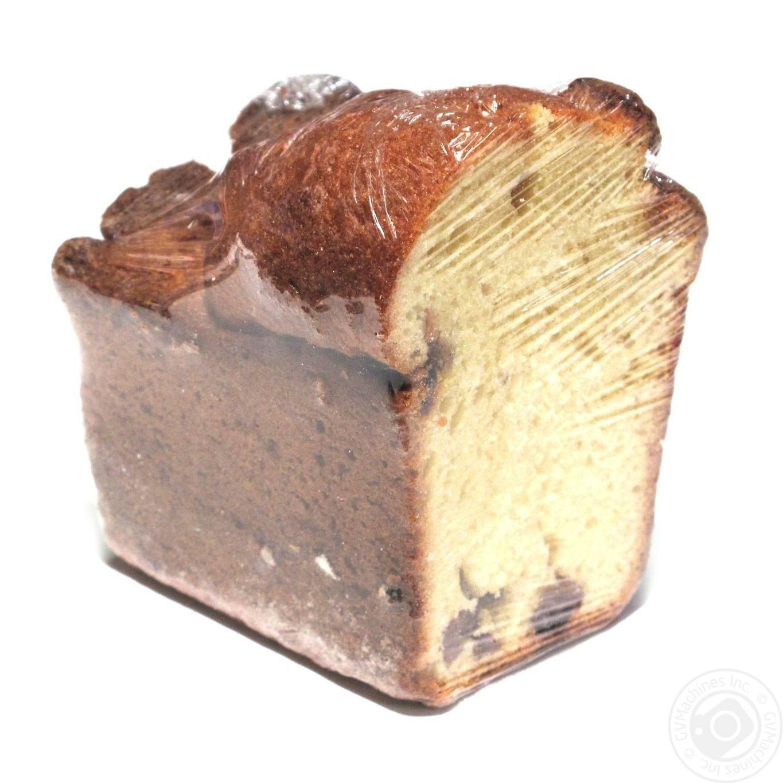 Кекс с изюмом