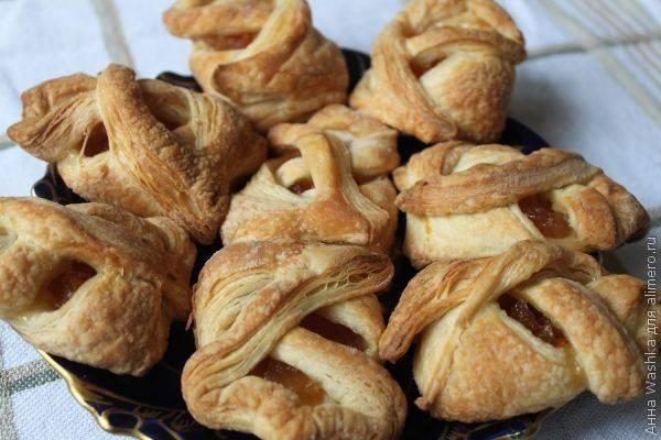 Печенье из слоеного теста «Чарох»