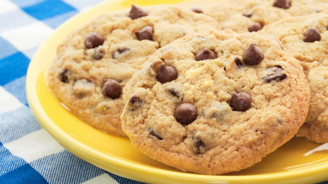 Арахисовое печенье с шоколадом
