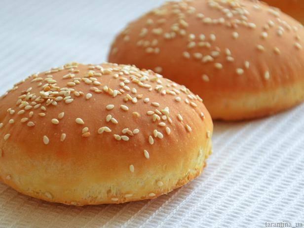 Булочки для гамбургеров  булка для гамбургера, рецепт как в макдональдсе