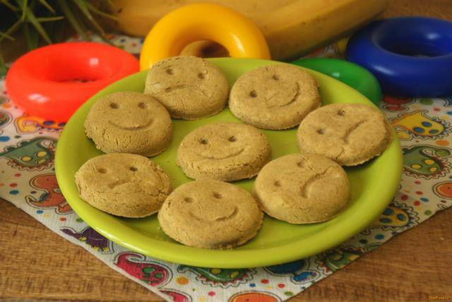 Печенье на кукурузной крупе