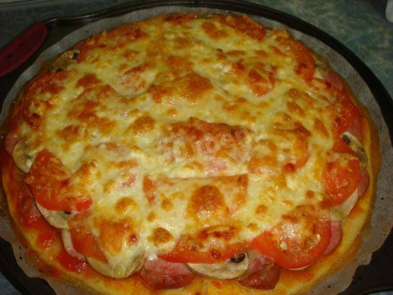 Пицца с грибами и колбасой – 7 рецептов, как приготовить вкусную домашнюю пиццу