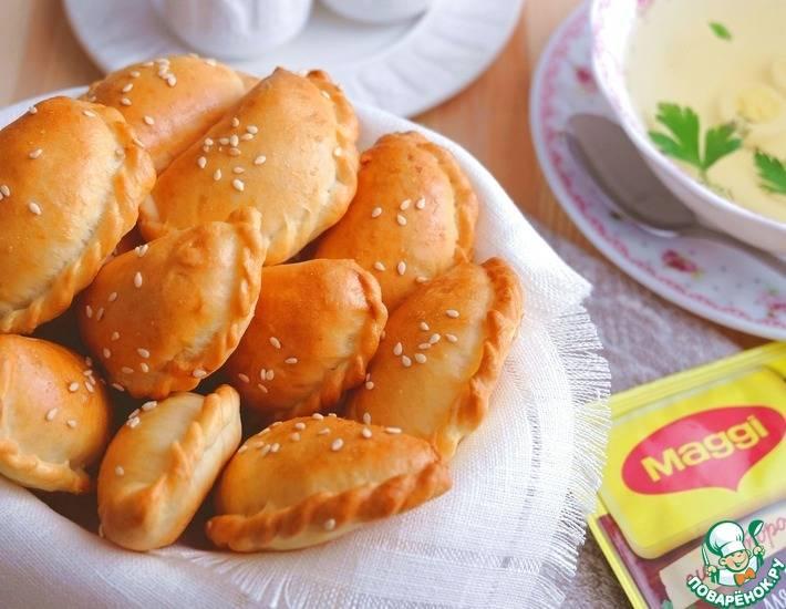 Пирожки из картофельного пюре теста: 81 домашний вкусный рецепт