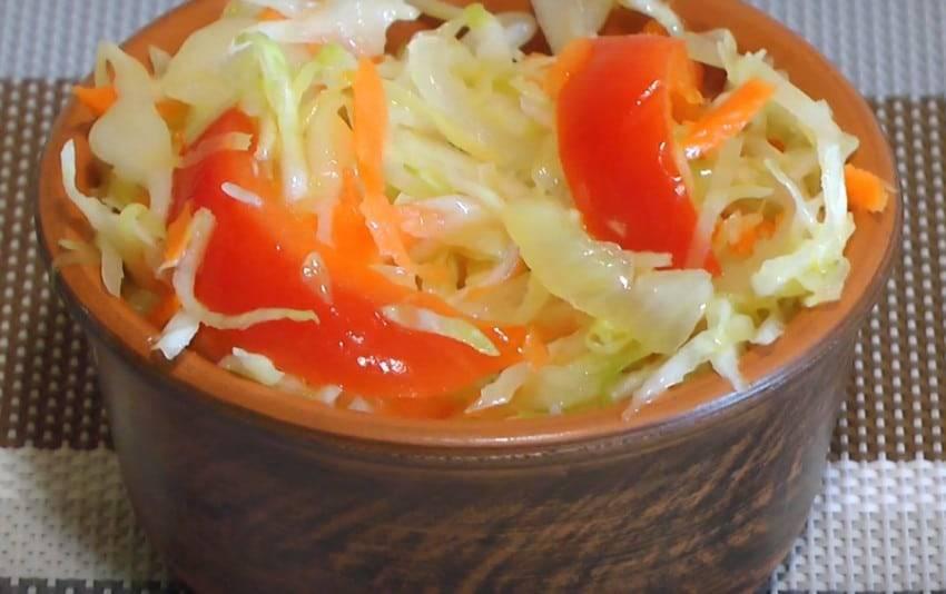 Поиск по запросу «салат с пекинской капустой и болгарским перцем»