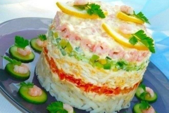Салат с авокадо и креветками - 5 очень вкусных рецептов с фото пошагово