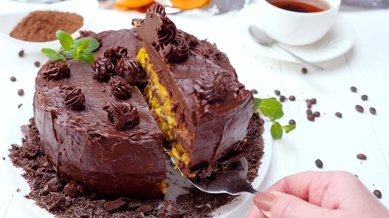 Апельсиновая начинка для торта
