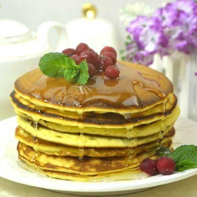 Пышные панкейки на кефире — 10 пошаговых рецептов