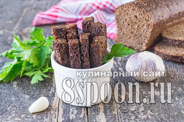 Как приготовить гренки в духовке из батона. гренки с чесноком - рецепты с фото. как приготовить чесночные гренки из черного или белого хлеба.