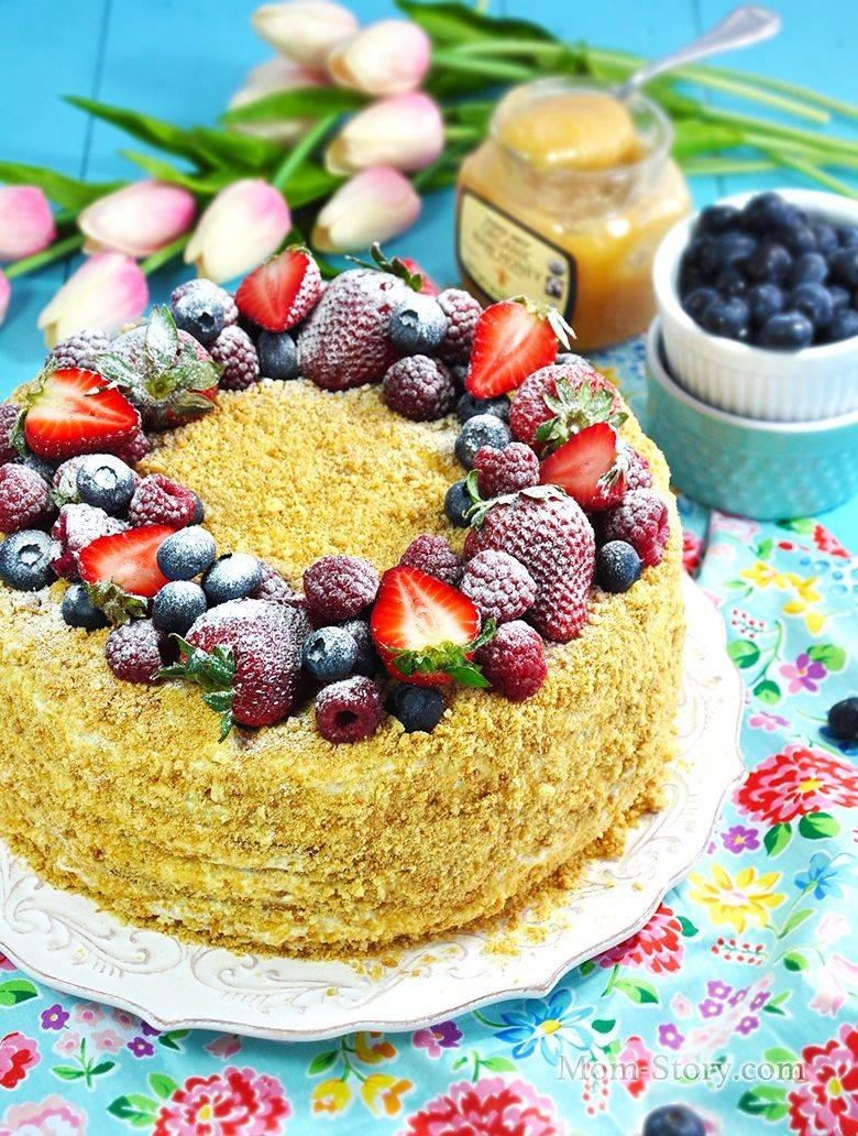 Медовый торт - рецепты