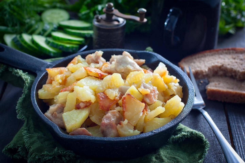 Как пожарить картошку на сковороде быстро, вкусно и правильно, чтобы она была хрустящей