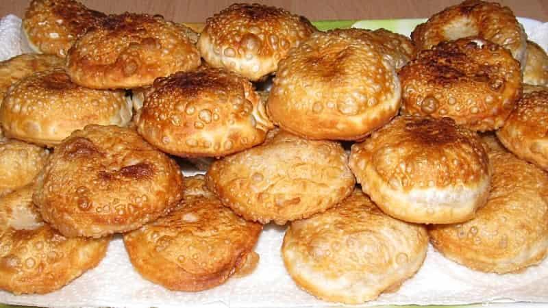 Хрустящие пирожки с начинкой «грибные бомбочки»