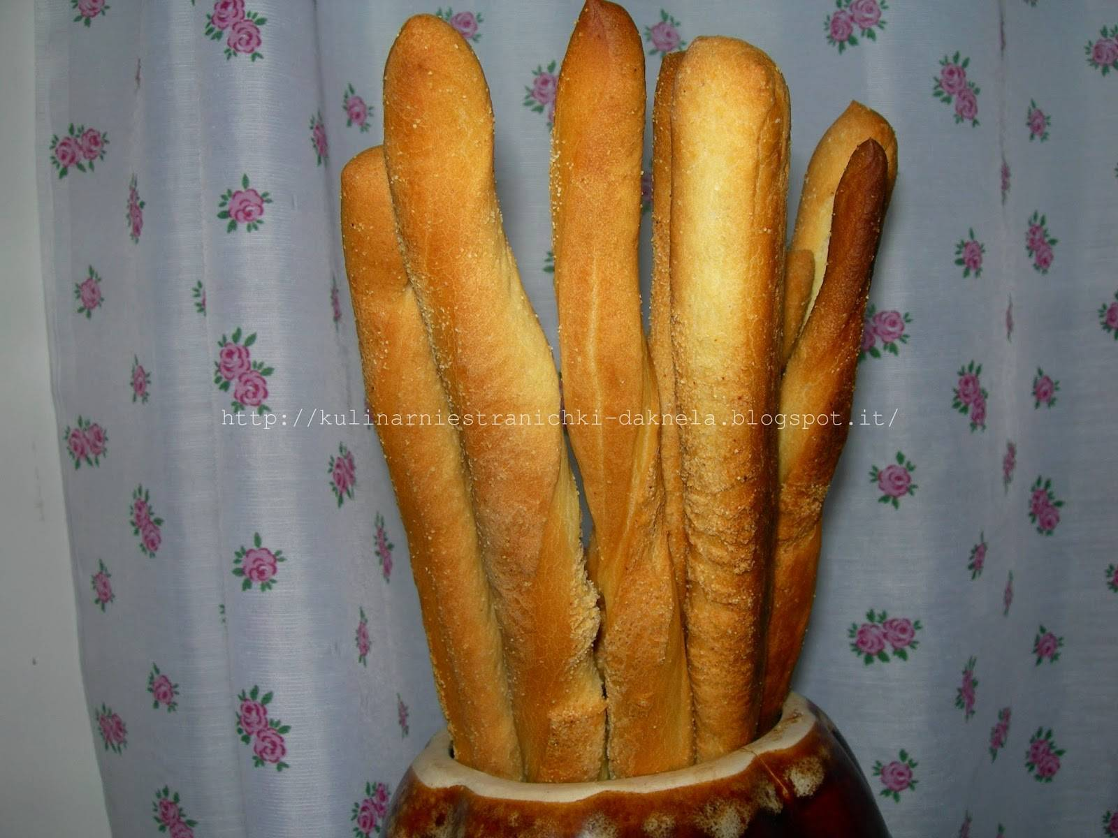 Гриссини - хлебные палочки